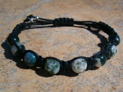 Tree Agate Healing Energy Bracelet