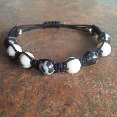 Zebra Jasper Healing Energy Bracelet